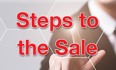 Steps to the Sale Salesperson Training